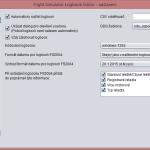 FS Logbook Editor - Nastavení - Načítání a ukládání