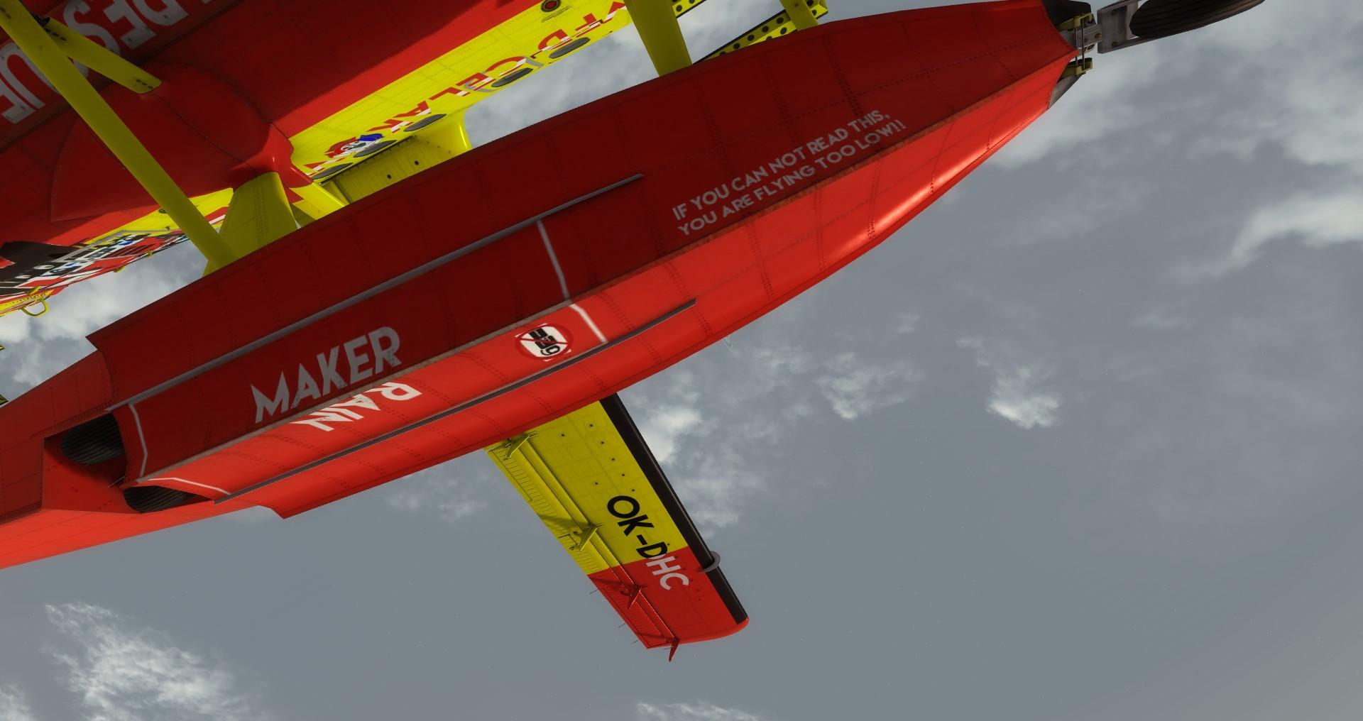 VFD Čelákovice DHC-6 Twin Otter - floats with warnings