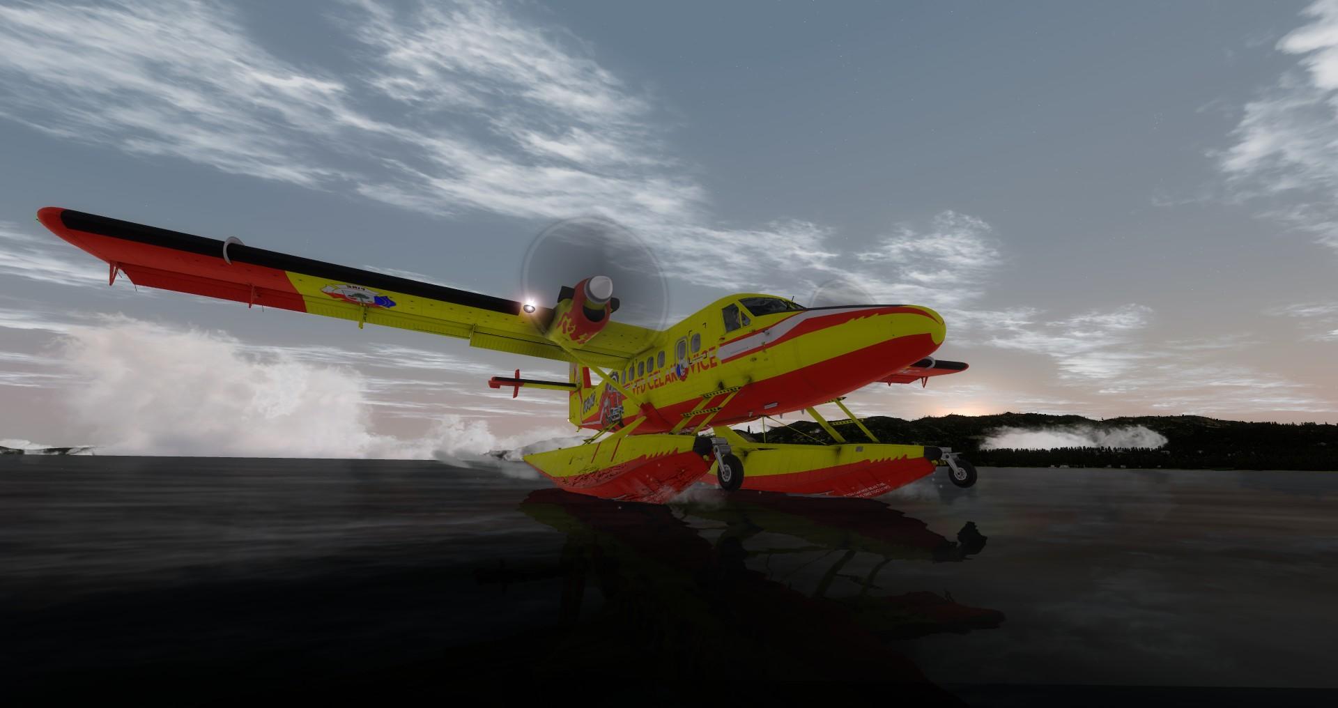 VFD Čelákovice DHC-6 Twin Otter - water landing, Lake Tahoe