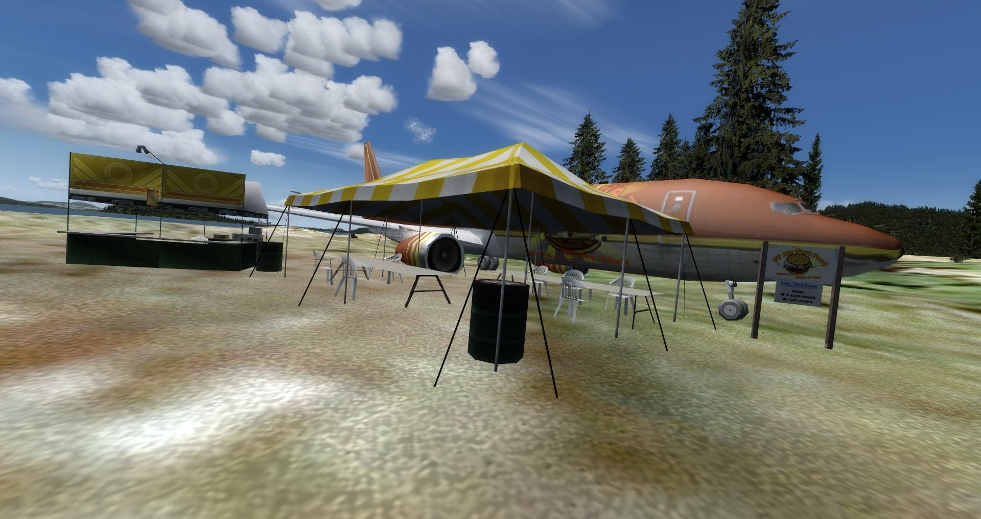 Mouseviator Private Island - FFAir Fast Food.