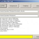 PBO Tool - prográmek pro komprimaci a dekomprimaci souborů PBO