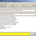 PBO Tool - program for compressing and decompressing PBO files.