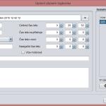 FS Logbook Editor - Dialog pro úpravu záznamu logbooku