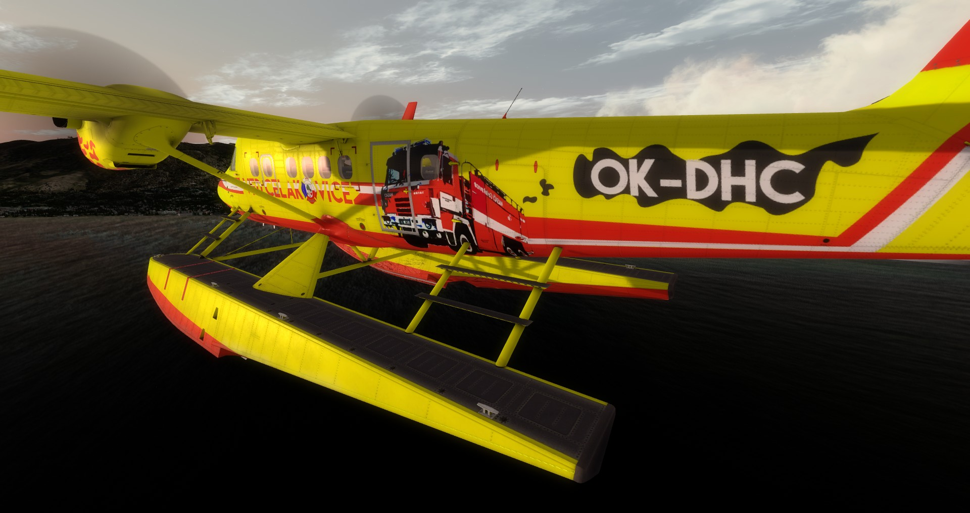 VFD Čelákovice DHC-6 Twin Otter, Lake Tahoe
