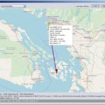 FS Logbook Editor 1.5 - Mapový prohlížeč