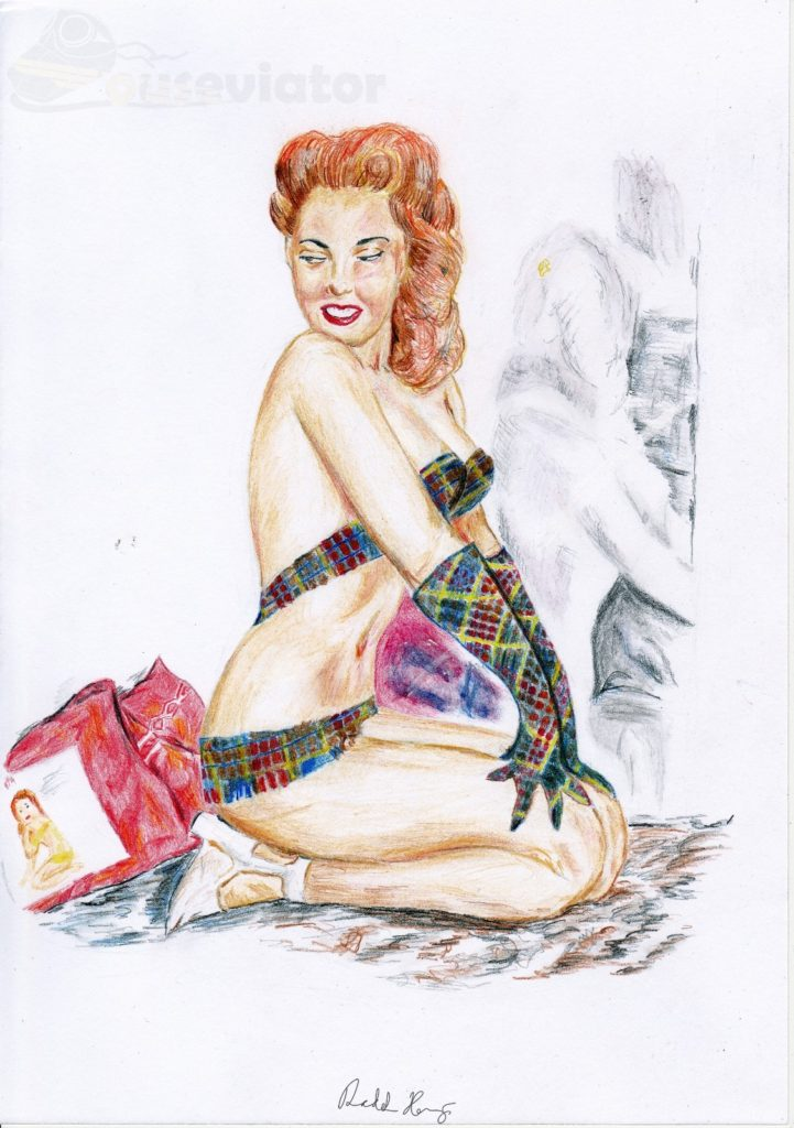 Pin-up girl 1