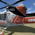 SDH Čelákovice repaint pro Bell 412, OK-FD1, obrázek 7/15