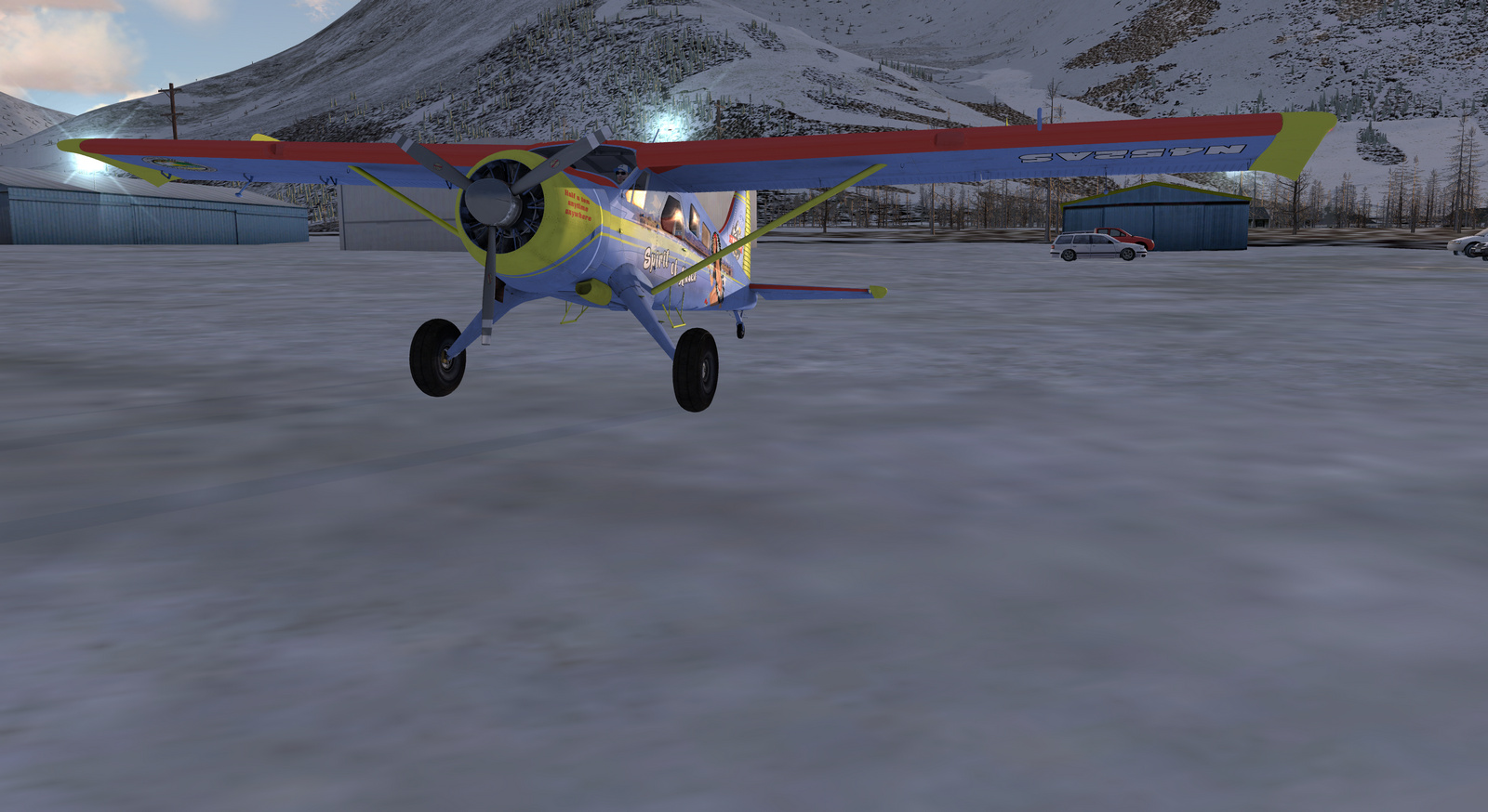 DHC-2 Beaver, Spirit of Alaska, Tundra STOL version, Screenshot 2/19