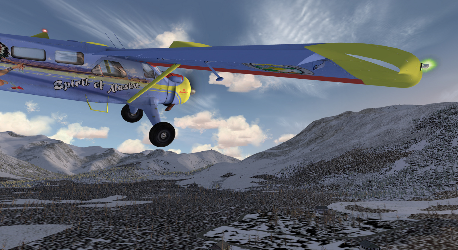 DHC-2 Beaver, Spirit of Alaska, Tundra STOL version, Screenshot 4/19