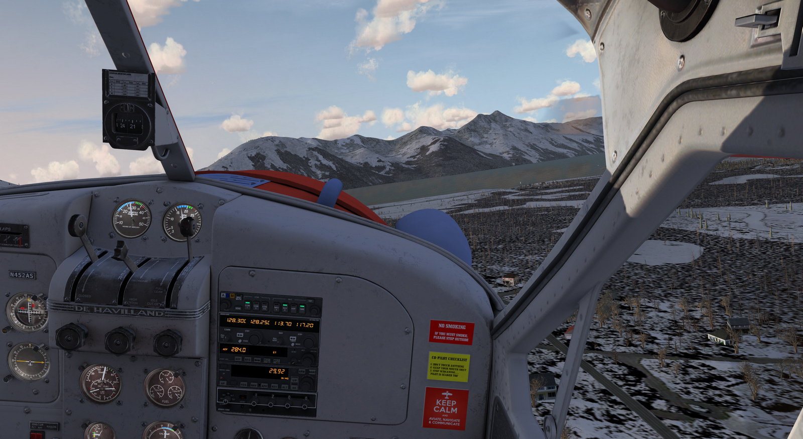DHC-2 Beaver, Spirit of Alaska, cockpit, Screenshot 5/19