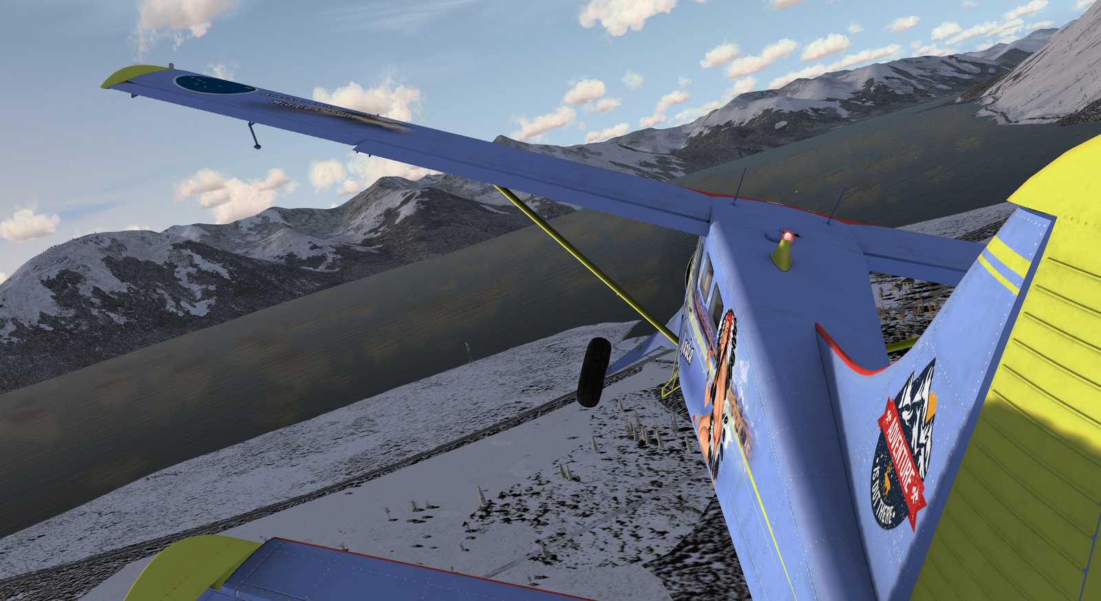 DHC-2 Beaver, Spirit of Alaska, Tundra version, Screenshot 6/19