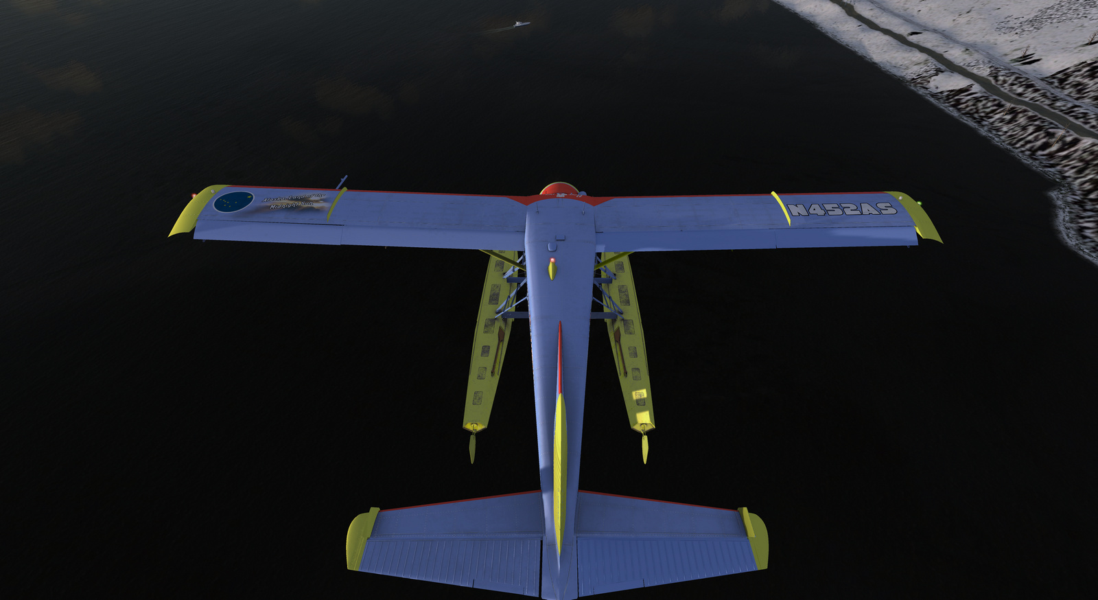 DHC-2 Beaver, Spirit of Alaska, Straight Floats STOL version, Screenshot 8/19