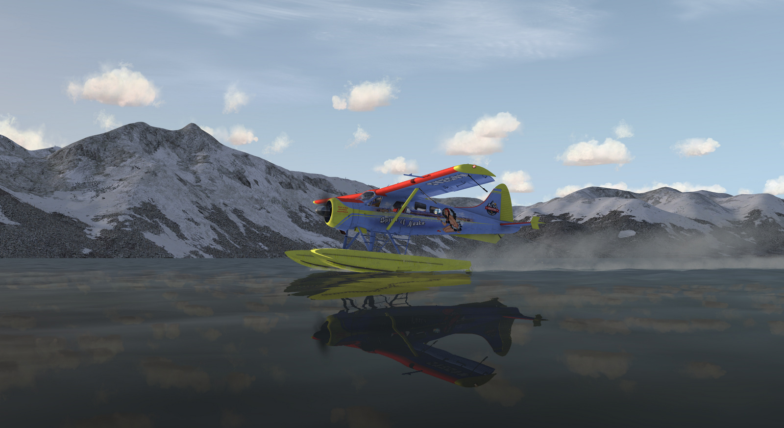 DHC-2 Beaver, Spirit of Alaska, Straight Floats version, Screenshot 10/19