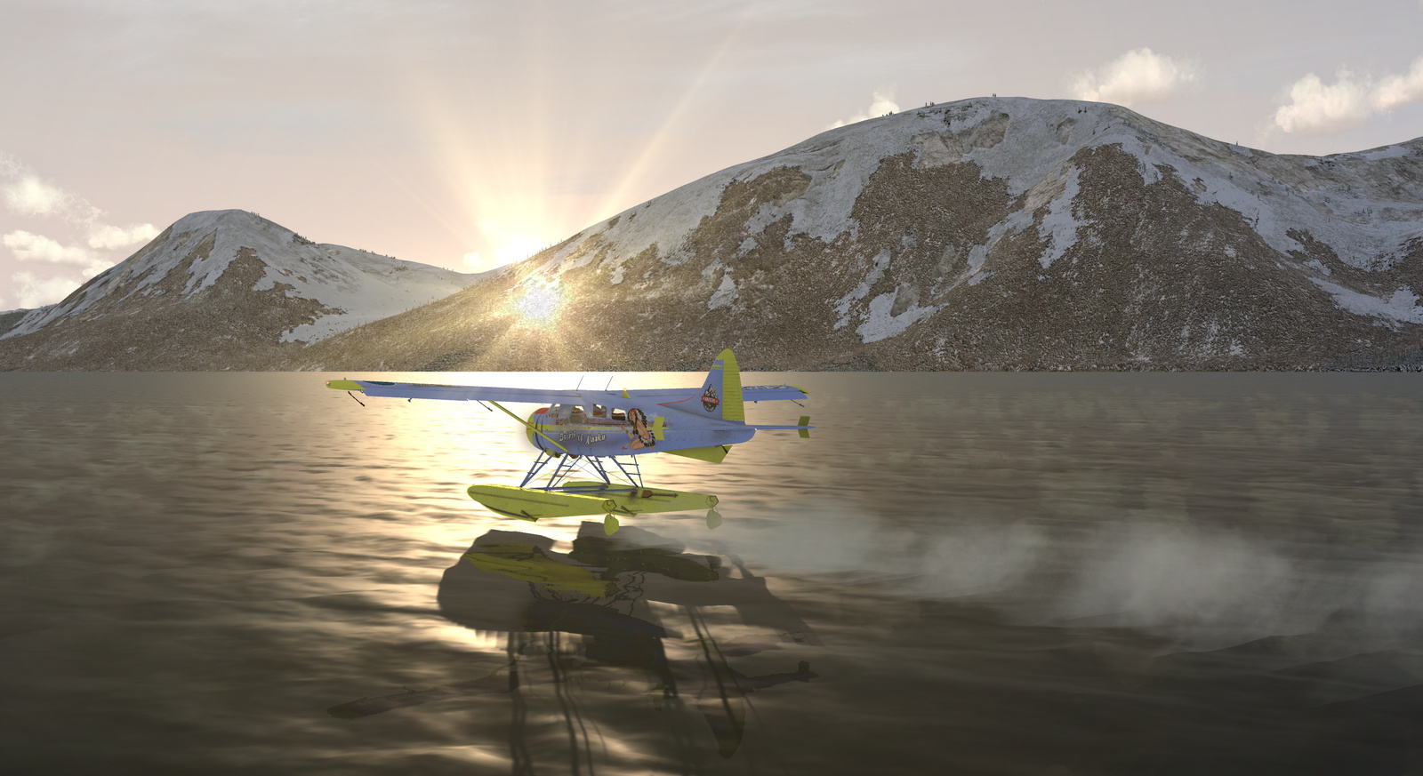 DHC-2 Beaver, Spirit of Alaska, Straight Floats version, Screenshot 11/19
