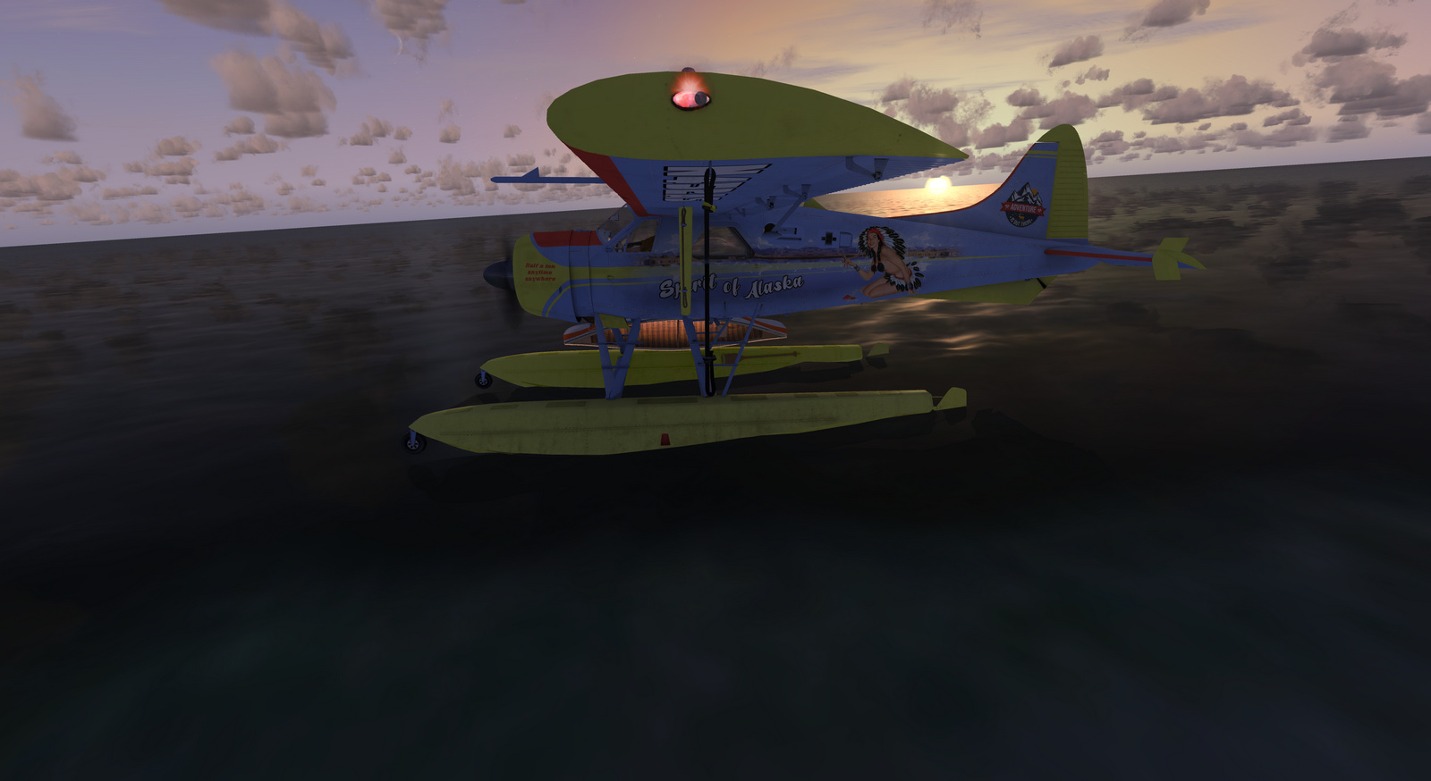 DHC-2 Beaver, Spirit of Alaska, Floats version, Screenshot 19/19
