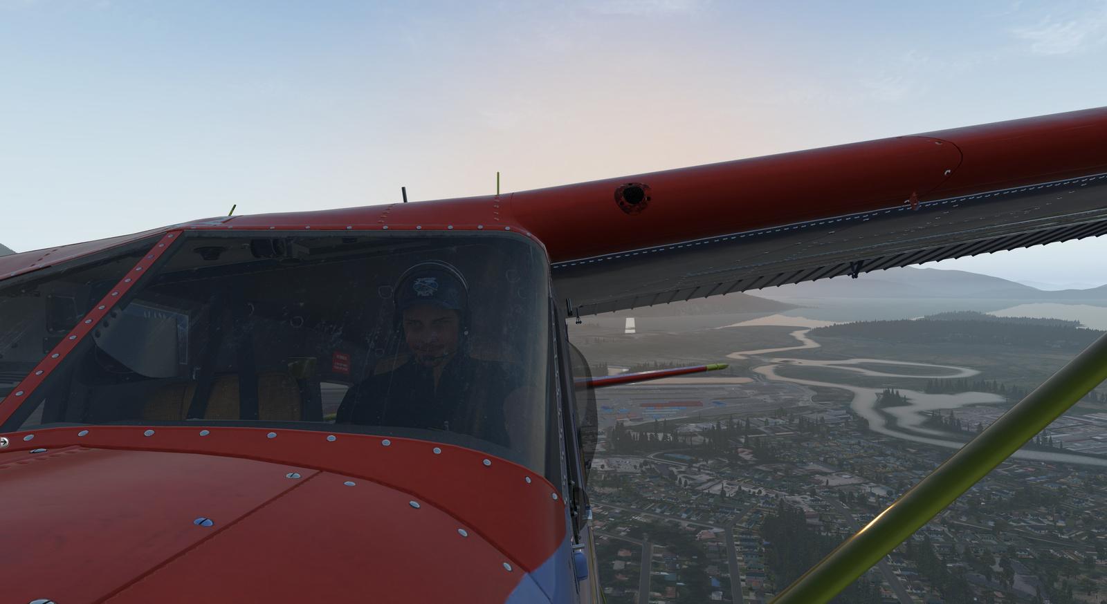Spirit of Alaska repaint for Thranda DHC-2 Beaver for X-Plane 11, Tundra tires, image 8/20