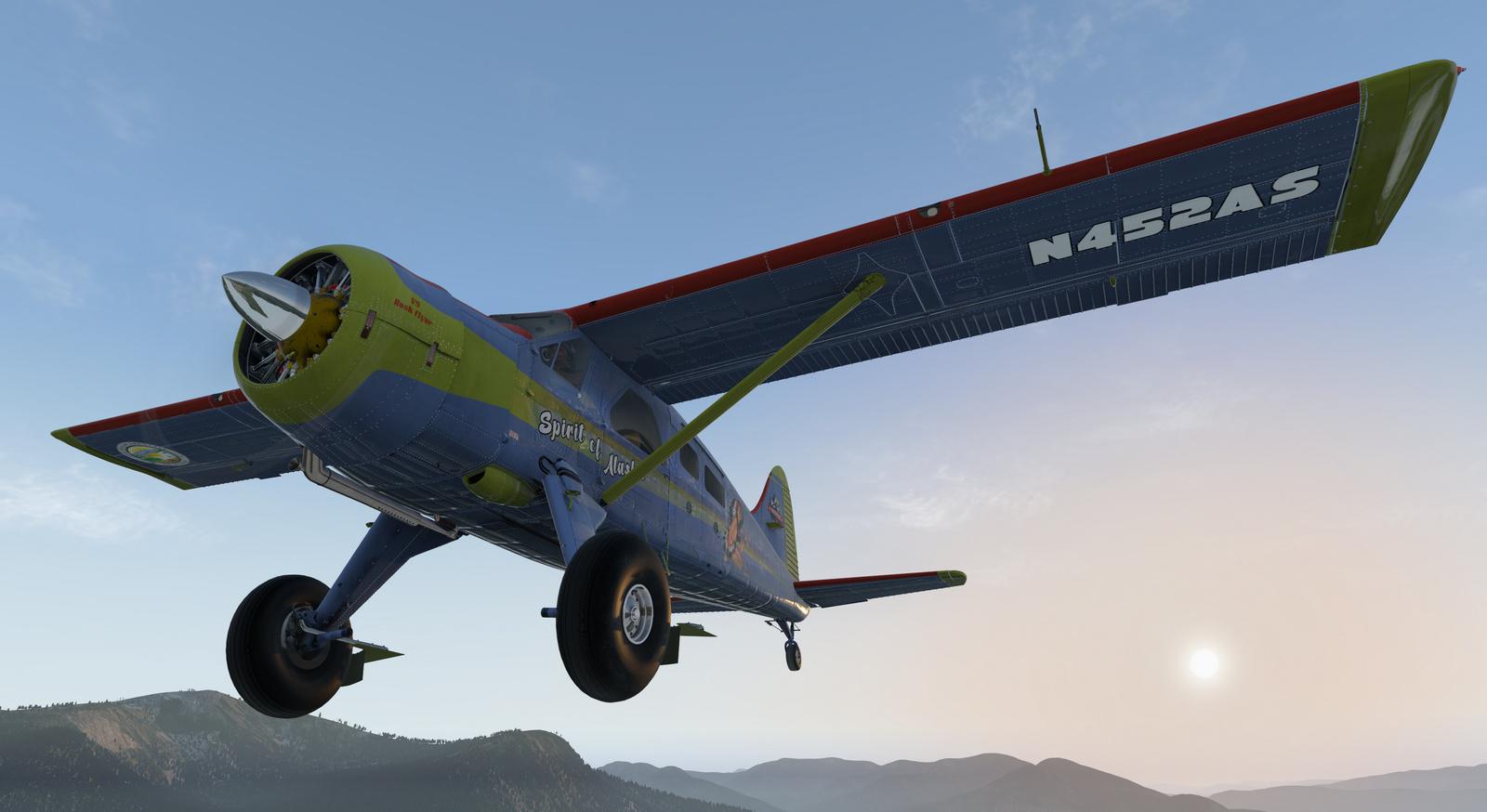 Spirit of Alaska repaint for Thranda DHC-2 Beaver