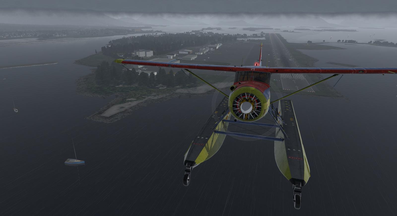 Spirit of Alaska repaint for Thranda DHC-2 Beaver for X-Plane 11, amphibian version, image 15/20