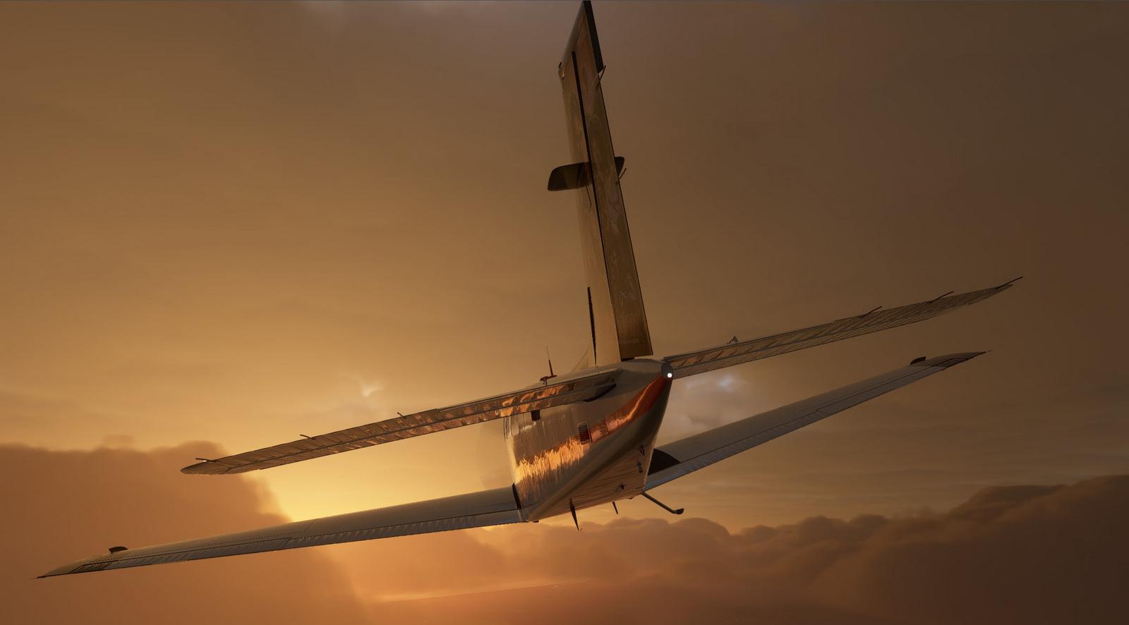Macgyver repaint for Asobo Bonanza G36 for Microsoft Flight Simulator